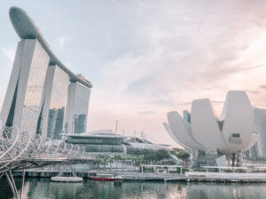 marina bay sands hotel artscience museum singapore