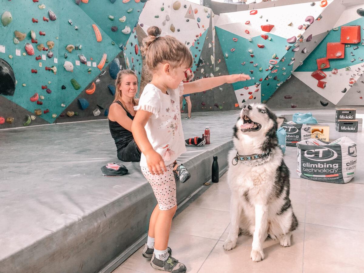 Vilnius with active kids