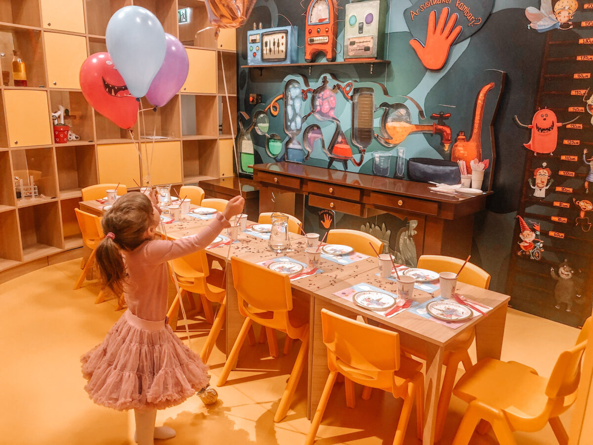 place for kids birthdays in Vilnius